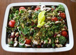 Recette: Salade légumineuses